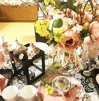 雛祭りのテーブルコーディネート(岩田屋アリタポーセリンラボ) - Table & Styling blog