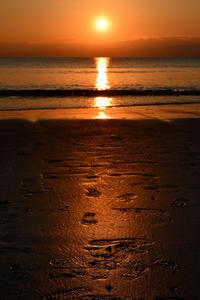 砂浜に忘れ去られた足跡を見てると、、、☆彡 - DAIGOの記憶