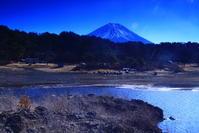 31年1月の富士(24)本栖湖の富士 - 富士への散歩道 ~撮影記~