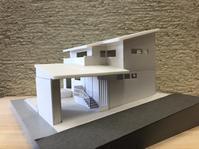「小さなガレージハウス」模型とパース - 桂建設の日々ブログ