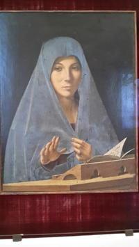 アントネッロ・ダ・メッシナの名画「受胎告知」 - シチリア島の旅ノート