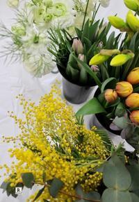お花がほんとうに好きでお花と向き合っていることがとてもよく伝わってきます。 - Bouquets_ryoko
