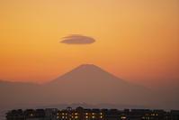 今日の富士山と笠雲 - エーデルワイスPhoto