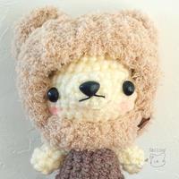 [minneさん] モコモコ♡くまさん帽子の販売を開始しました♪ - Smiling * Photo & Handmade 2 動物のあみぐるみ・レジンアクセサリー・風景写真のポストカード