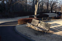 冬日のベンチ - 風の彩り-2