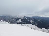 樹氷林に囲まれた綿向山 (1,110M)山頂 編 - 風の便り
