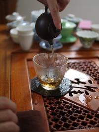 中国茶講座 - お茶をどうぞ♪