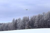 氷の世界~旭川空港~ - 自由な空と雲と気まぐれと ~from 旭川空港~