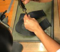 モカ縫いローファー - 手づくり靴 仄仄工房(ホノボノコウボウ)