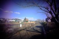 犬山 in pinhole その5 - 味わう瞬間 (とき)