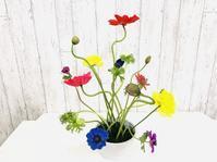 カラフルに♪ - Flower Days ~yucco*のフラワーレッスン&プリザーブドフラワー~