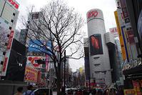 1月31日㈭の109前交差点 - でじたる渋谷NEWS