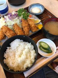 カキフライ定食 - 庶民のショボい食卓
