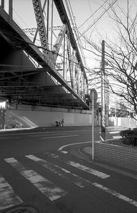 街の鉄道橋(その2) - そぞろ歩きの記憶