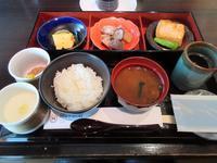 【シェラトン都ホテル東京】「カフェ・カリフォルニア」で和朝食 - お散歩アルバム・・冬の足音