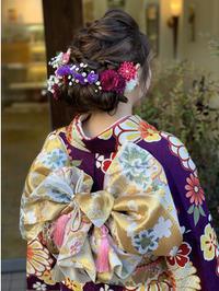 2019年成人式 - 名古屋の美容室 ミュゼドゥラペ(Musee de Lapaix)公式ブログ
