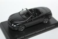 """1/64 Kyosho BENTLEY """"Secret"""" CONTINENTAL SUPERSPORTS CONVERTIBLE - 1/87 SCHUCO & 1/64 KYOSHO ミニカーコレクション byまさーる"""