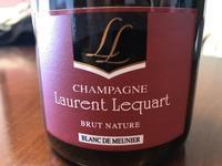 Laurent Lequart オヤツとシャンパーニュ♪ - よく飲むオバチャン☆本日のメニュー
