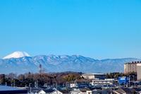 標高46mの頂きにて山田富士 - 荒野にて