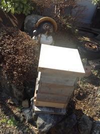 巣箱の準備 - カピパラと日本蜜蜂