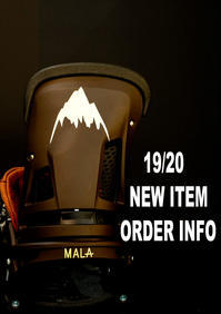 19-20 NEW MODEL ORDER INFO - amp [snowboard & life style select]