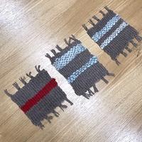 『手織りでコースター作り』ワークショップを開催しました・・・♪ - 手づくりひとてまの会『文京区 初心者さん向け洋裁教室』