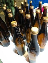 「特別純米ゴールドラベル」720mlレッテル張り - 日本酒biyori