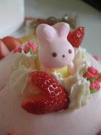 ウサちゃんでお祝い - K's Sweet Kitchen