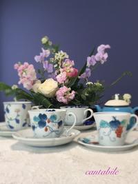 暮らしを楽しむ贅沢な時間 - 佐賀県伊万里市フラワーアレンジメント&紅茶レッスン cantabile♪ flower &tea Lesson 伊万里style