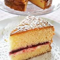 ビクトリアサンドイッチケーキとキャラメルモカプリン - シュプリームボヌールレッスン記