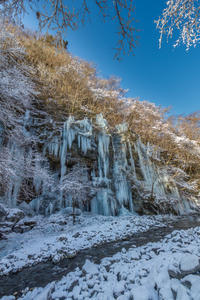 三十槌の氷柱 - デジカメ写真集