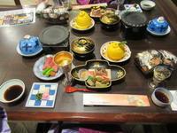 夕食、雄琴温泉、琵琶湖グランドホテル、京近江にお邪魔。 - rodolfoの決戦=血栓な日々