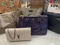 プラダ、グッチ、YSLのバッグが入荷です!!!! - ブランド品、時計、金・プラチナ、お酒買取フリマハイクラスの日記