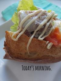 サバサンドのあさごパン - 料理研究家ブログ行長万里  日本全国 美味しい話
