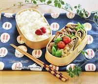 きのこ入り豚の生姜焼き弁当と節分にて♪ - ☆Happy time☆