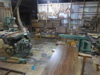 テレビボードの塗装 - 手作り家具工房の記録