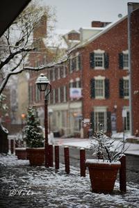 雪の街 / a city in the snow - Seeking Light - 光を探して。。。