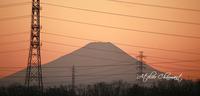 冬だけの景色・巨大富士山 - Atelier Charmant のボタニカル・水彩画ライフ
