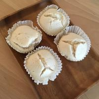 【豆乳米粉蒸しパン】簡単でホワホワ食感! - 食日和 ~アレルギーっ子と楽しい毎日~