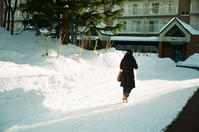 節分の積雪量と除雪ドーザ - 照片画廊