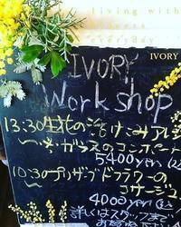 『〜IVORY 花教室 2月 開催です~♬』 -  Flower and cafe 花空間 ivory (アイボリー)