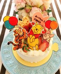 今日のバースデーケーキ!!! - HAPPY FIELD