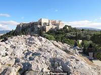 アテネのアクロポリスとアレスの丘 - 日刊ギリシャ檸檬の森 古代都市を行くタイムトラベラー