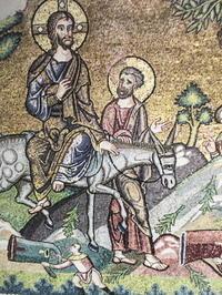 「ベツレヘム聖誕教会モザイク壁画の修復と発見」~古代オリエント博物館 - カマクラ ときどき イタリア