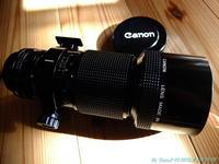 CANON NewFD 300mm f4 - お山な日々・・・時々町