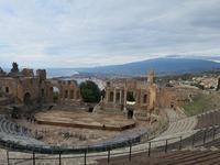 タオルミーナのギリシア劇場~両親連れて海外旅行(南イタリア編)~ - 旅はコラージュ。~心に残る旅のつくり方~