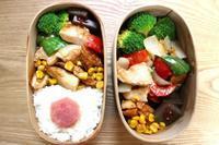 鶏胸肉のマヨ醤油やき弁当と250円弁当 - オヤコベントウ