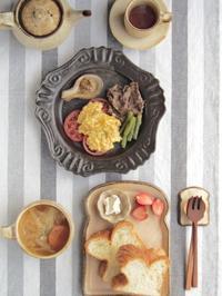 スクランブルエッグ朝ごはん - 陶器通販・益子焼 雑貨手作り陶器のサイトショップ 木のねのブログ