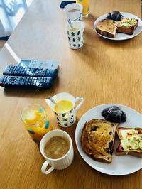 土曜日の朝と昼 - まるの家のごはんと暮らし