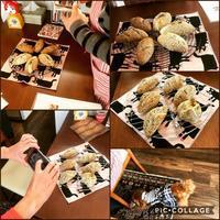 セサミロールレッスンとワンプレート - カフェ気分なパン教室  ローズのマリ